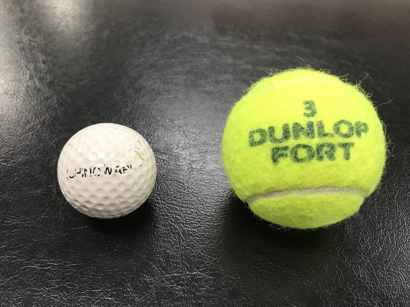 ボール ほぐし テニス